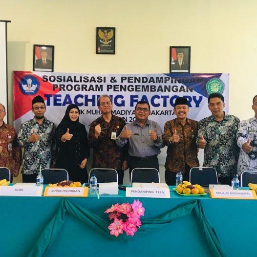 Sosialisasi dan Pendampingan Program Tefa SMK MUH4