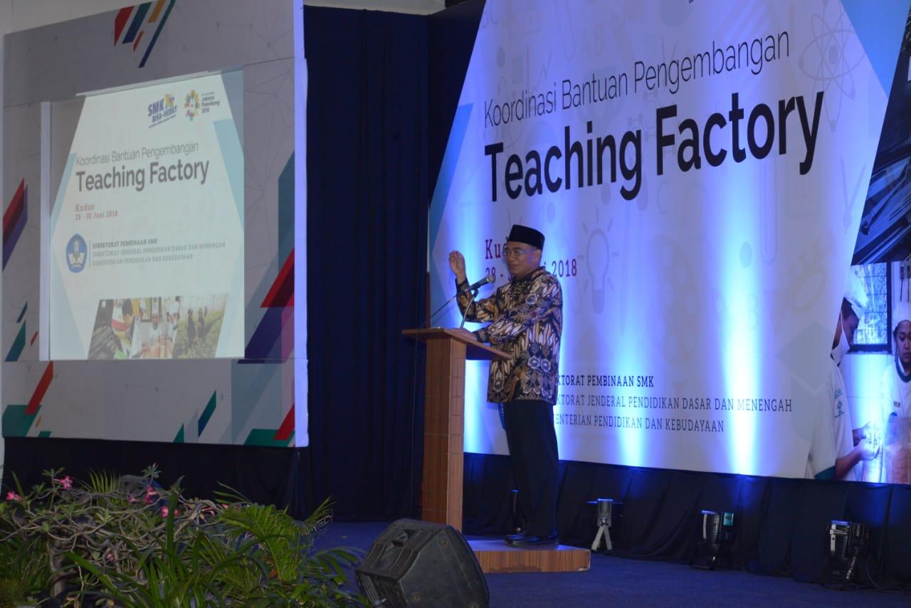 Persiapan Teaching Factory SMK Muhammadiyah 4 Jakarta