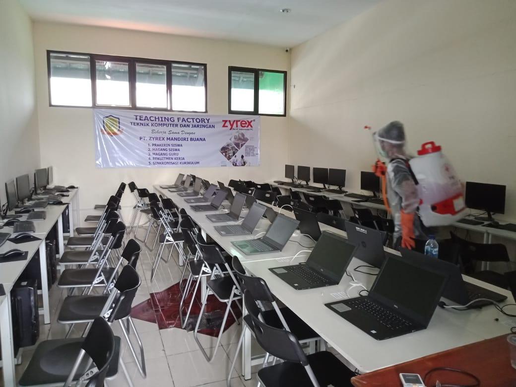 Pencegahan COVID-19 SMK Muhammadiyah 4