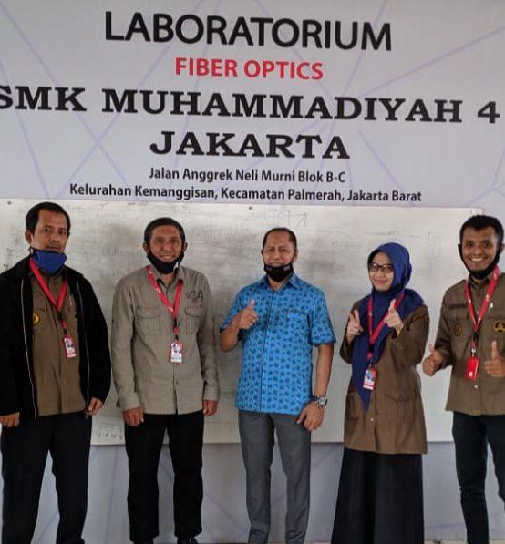 Sertifikasi TIFO-TELKOM untuk Guru SMK Muhammadiyah 4 Jakarta
