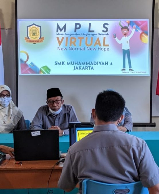 MPLS SMK Muhammadiyah 4 Jakarta Tahun Pelajaran 2020/2021
